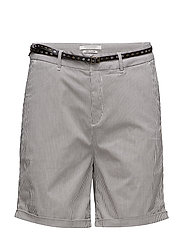 Chino short in medium weight stretch pima cotton old with - COMBO S