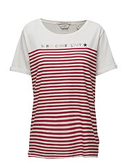 French inspired short sleeve tee - COMBO A