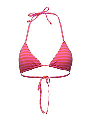 Scotch  &  Soda - Triangle Bikini Top With Scallop Or Embroidered Edges