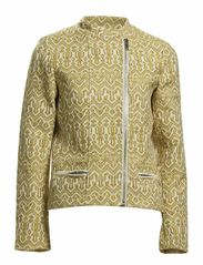Short jacket in various jacquard patterns - A-combo A
