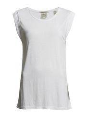 Basic round neck tee in various colours - 0-white