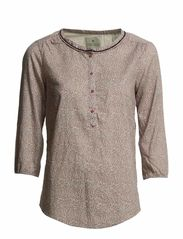 Cute tunic top with beaded neck trim - C-combo C