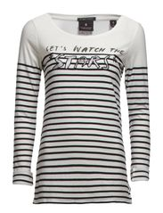 Long sleeve rock themed tee - A combo A