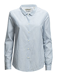 Relaxed fit preppy shirt - combo C - C