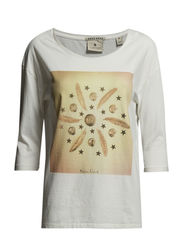 3/4 Sleeve relaxed fit tee - combo A - A