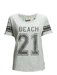 Tee with varsity prints - combo D - D