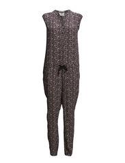 Viscose blend jumpsuit - combo D - D