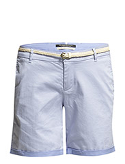 Longer length chino short - sky blue - 43