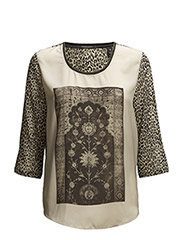 Photoprinted woven top - COMBO C C