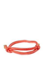 Simple cord bracelet - miami pink 74