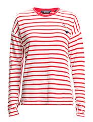 Breton stripe long sleeve top - combo X X