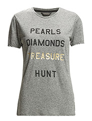 Text print t-shirt series - combo A - A