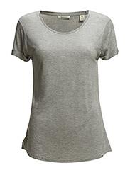 Home Alone short sleeve tee - grey melange - 970