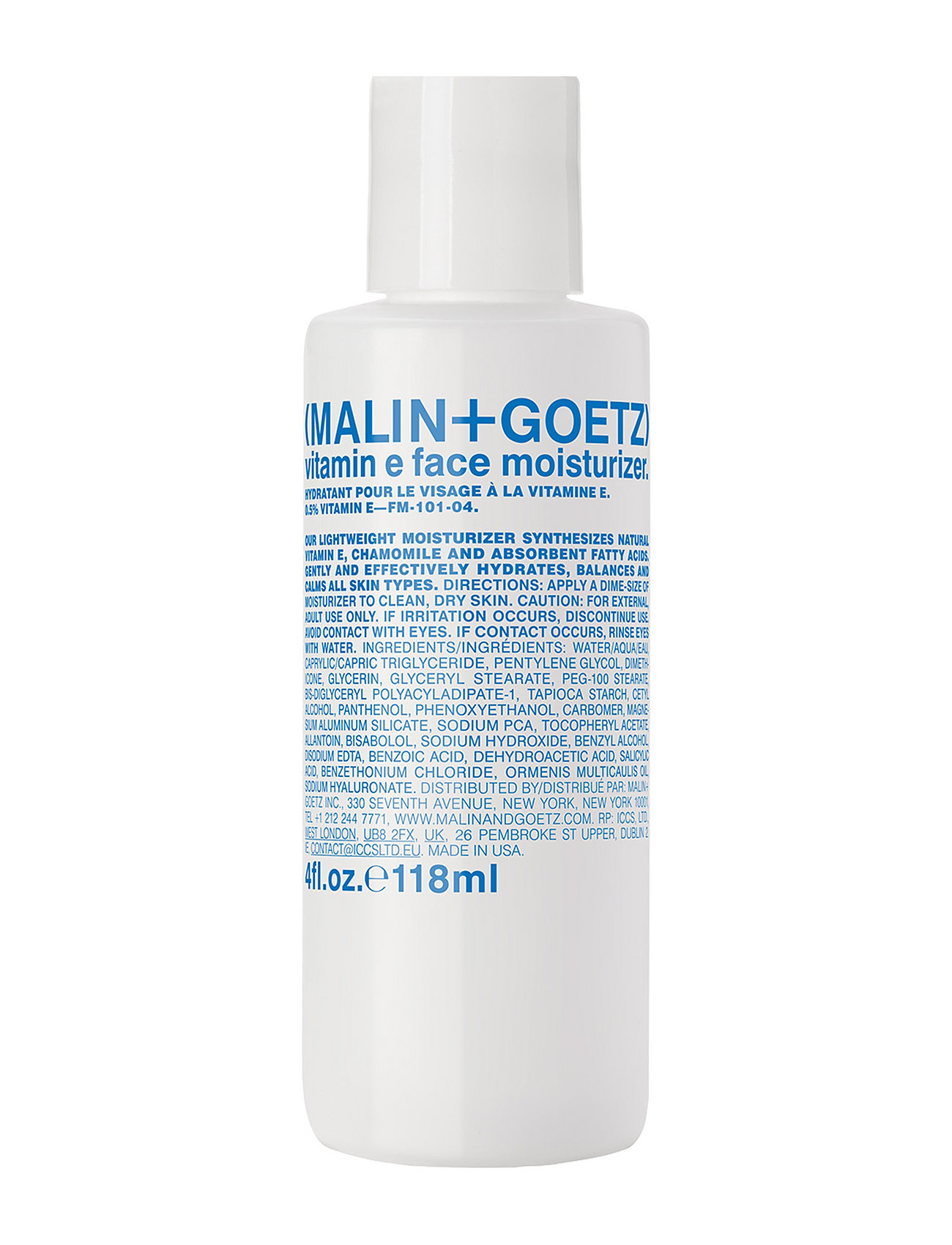 malin+goetz – Vitamin e face moisturizer fra boozt.com dk