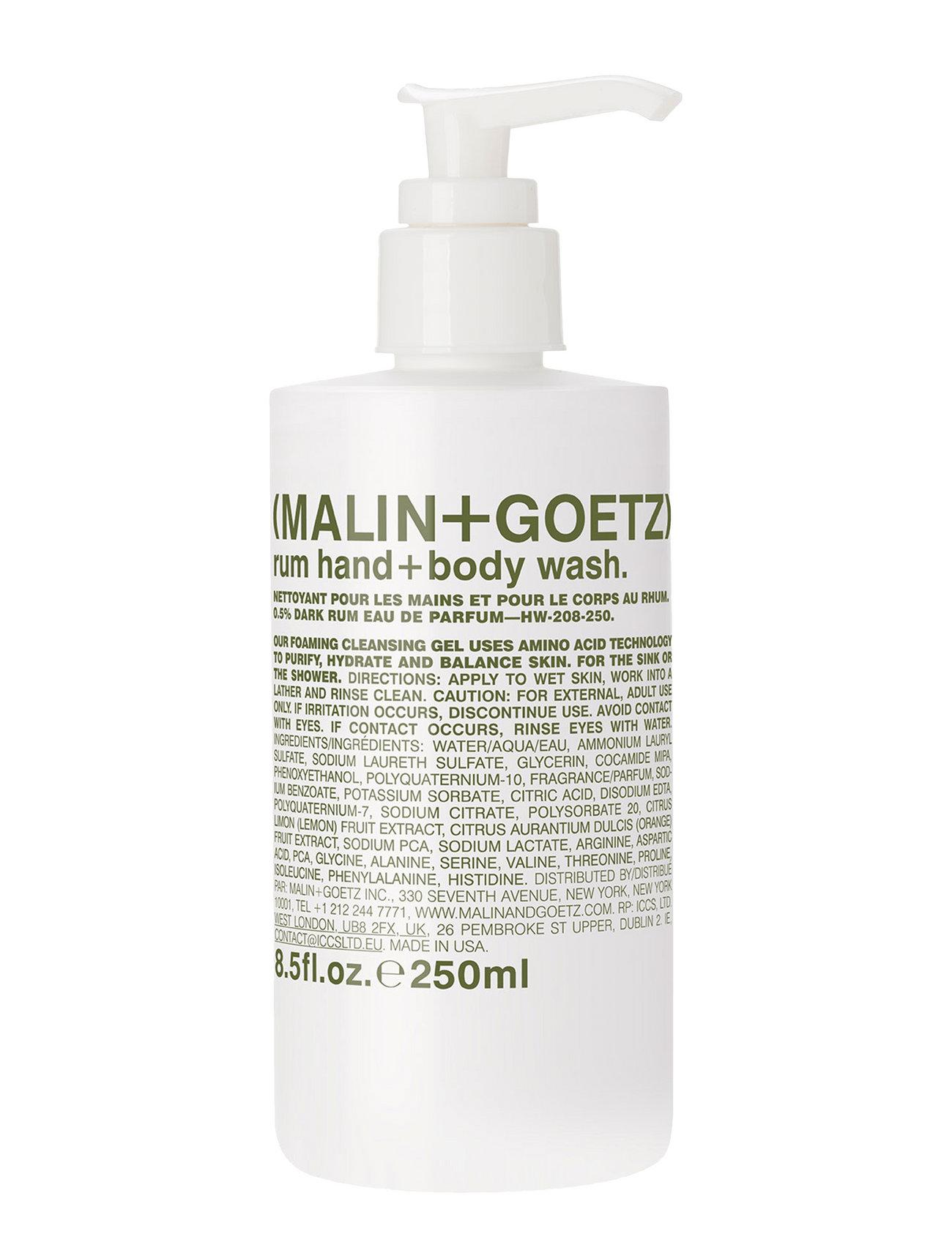 malin+goetz Rum hand + body wash fra boozt.com dk