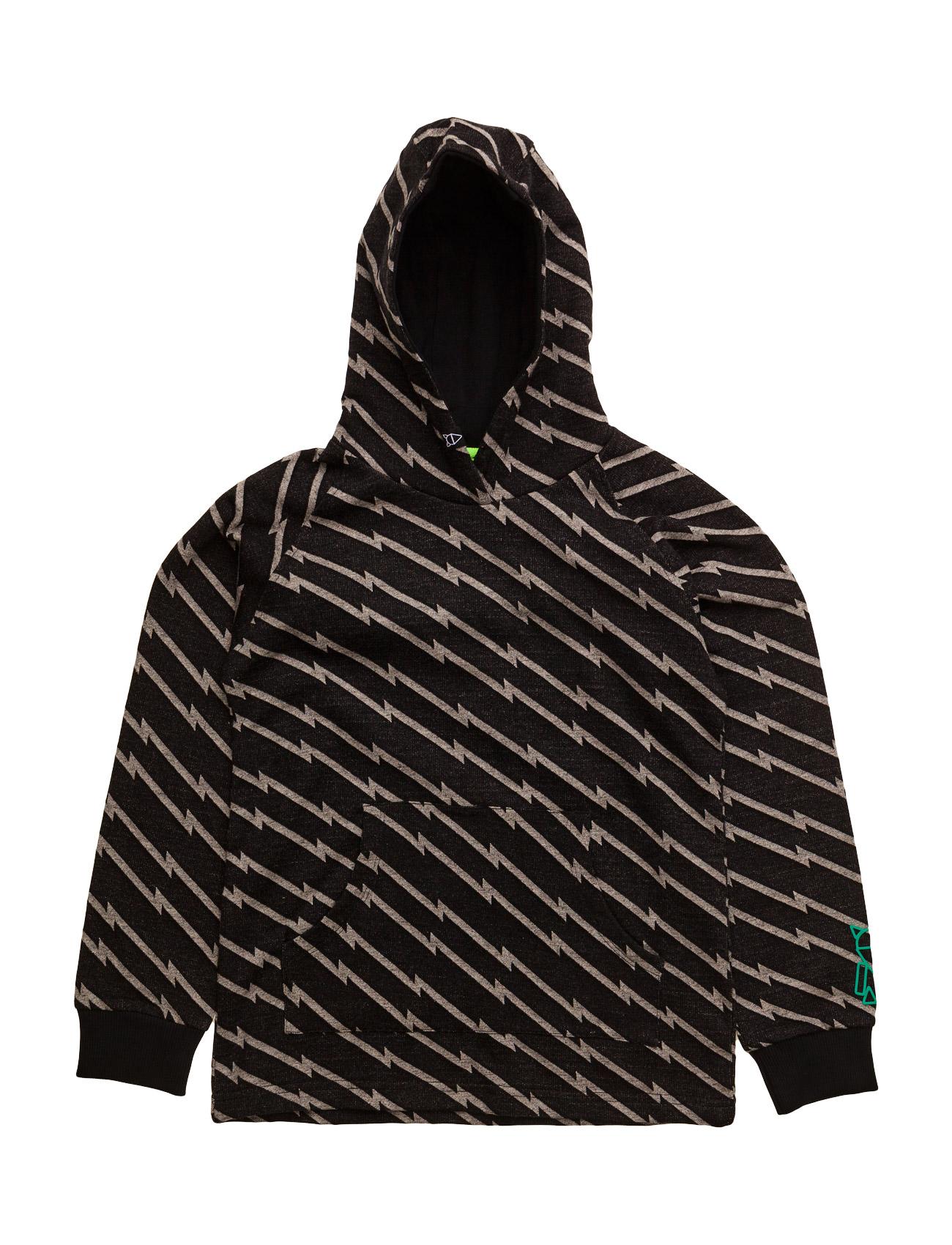 Maxx Sweatshirt With Hoodie Mallow  til Børn i Grå