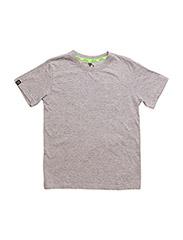 Loop t-shirt short sleeve - GREY MELANGE