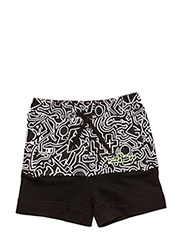 Jung shorts loose fit - WHITE PRINT