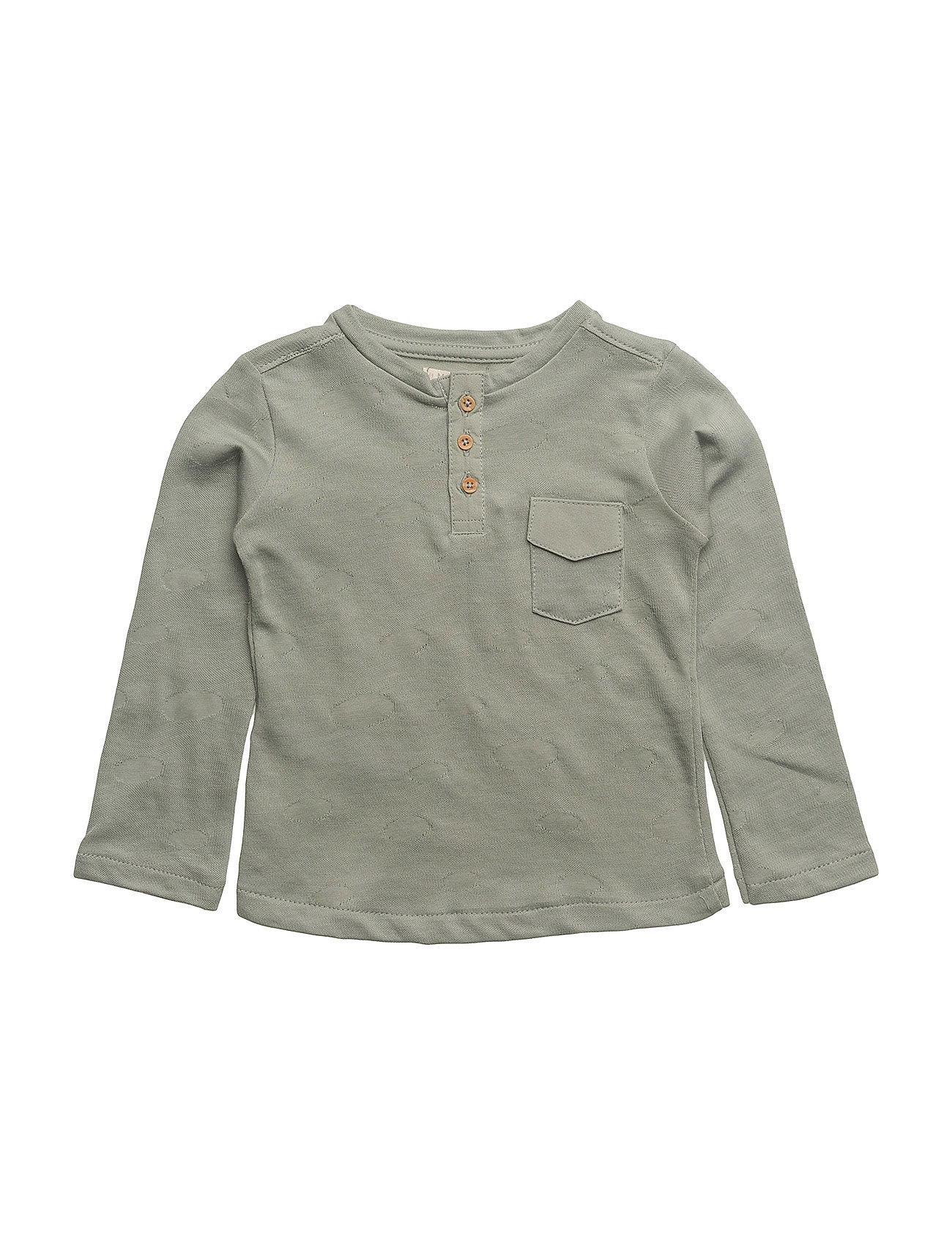 Mango Kids Textured cotton t-shirt