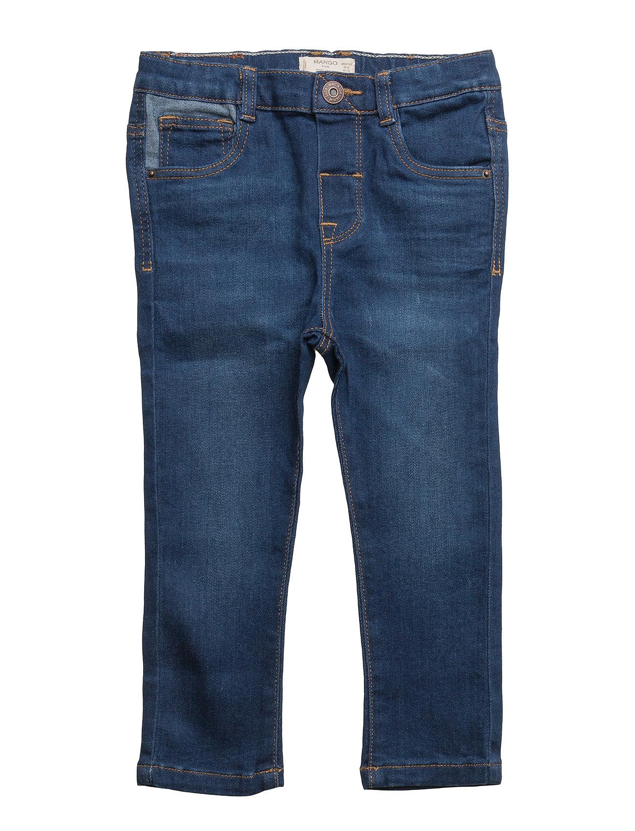 Slim-Fit  Jeans Mango Kids  til Børn i Open Blå