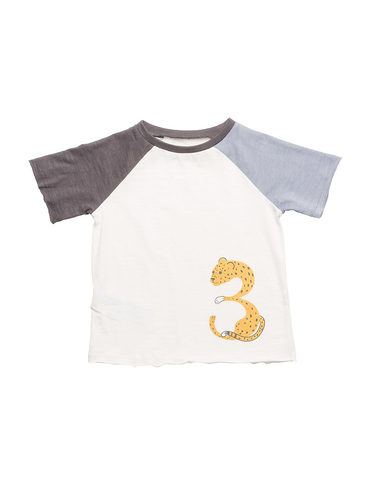 Animal print t shirt natural white 39 kr mango kids for Leopard print shirts for toddlers