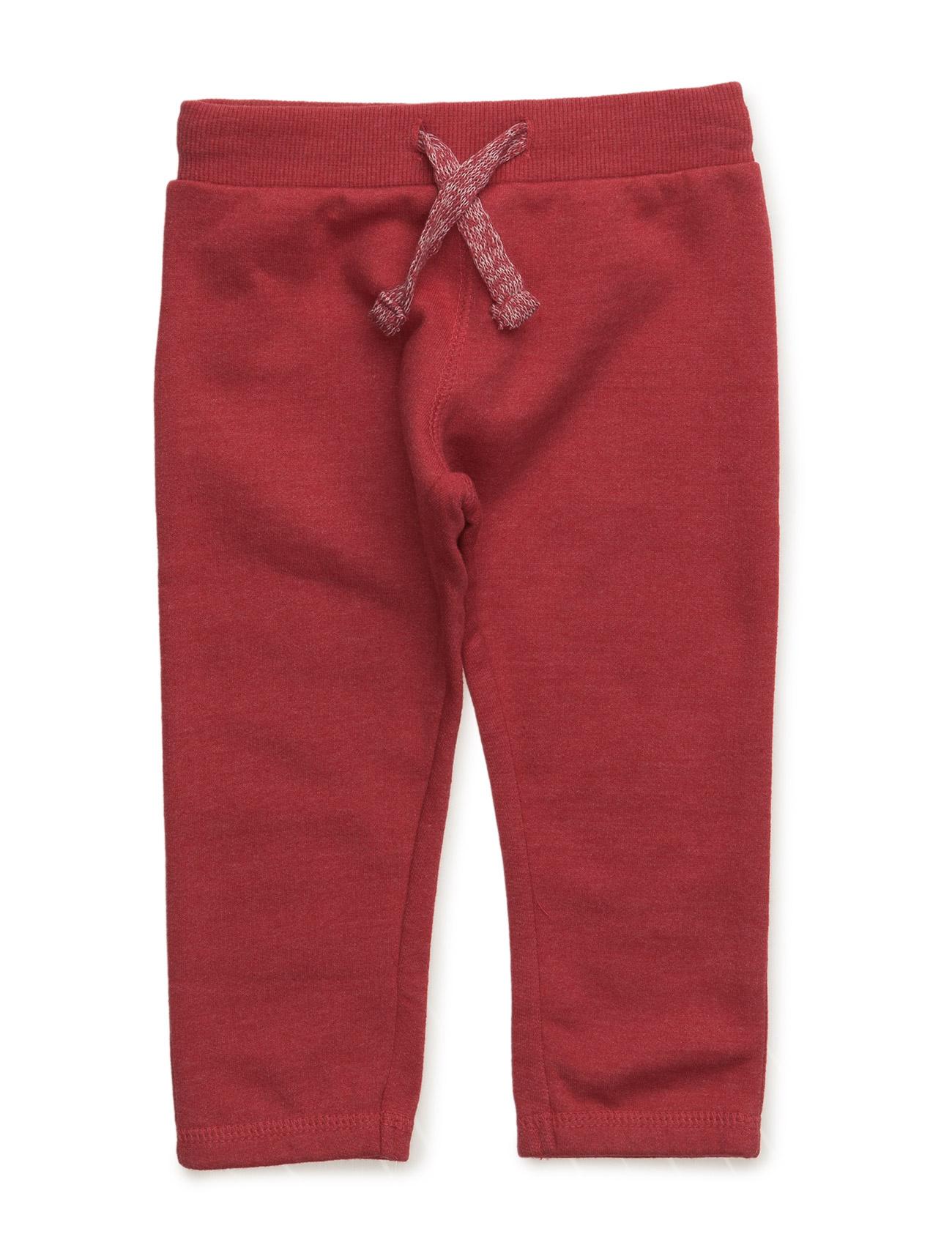 Cotton Jogging Trousers Mango Kids  til Børn i Rød