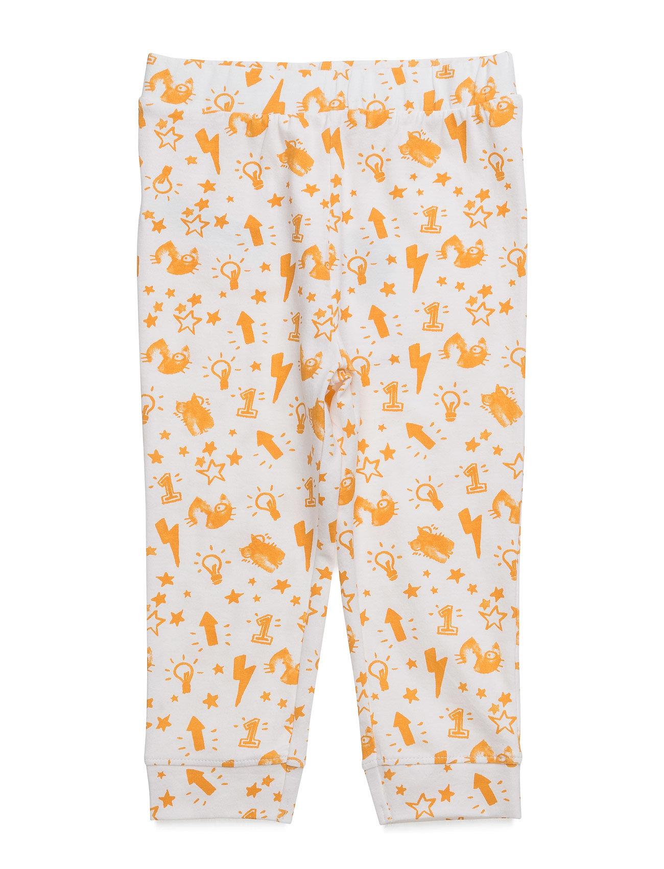 Printed Cotton Trousers Mango Kids