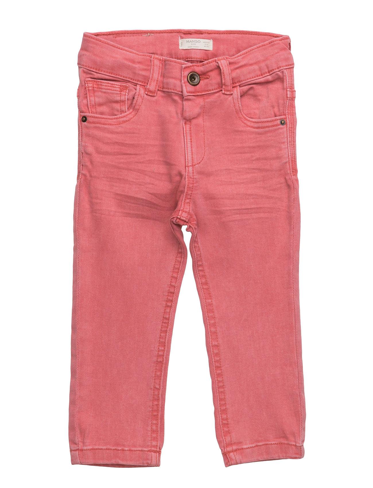 Slim-Fit  Jeans Mango Kids  til Børn i Rød