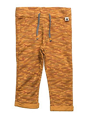 Printed jogging trousers - MEDIUM YELLOW