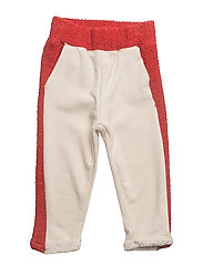 Contrast jogging trousers - RED
