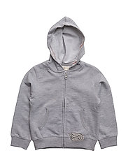 Kangaroo pocket hoodie - MEDIUM GREY