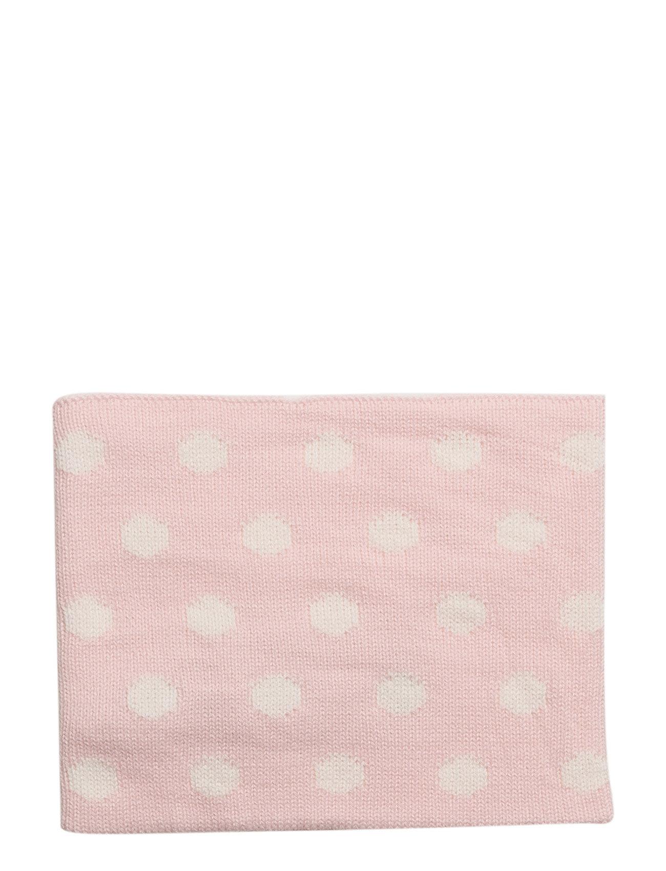 mango kids – Polka-dot knit scarf fra boozt.com dk