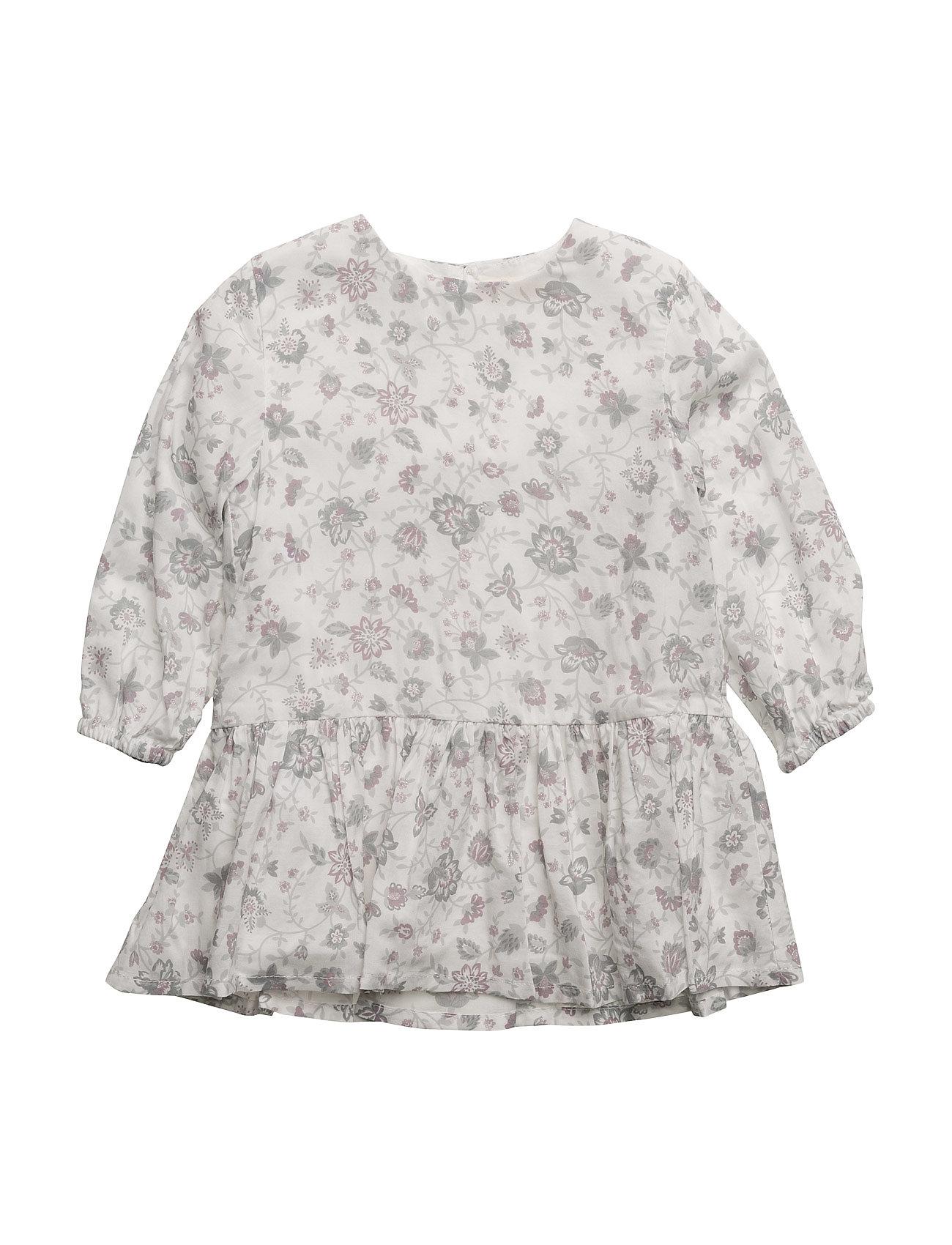 Floral Print Dress Mango Kids Kjoler til Børn i Natural White