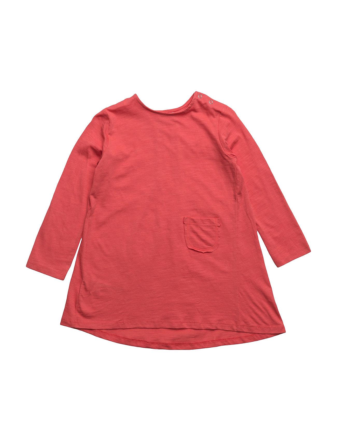 Pocket Cotton Dress Mango Kids Kjoler til Børn i Bright Red