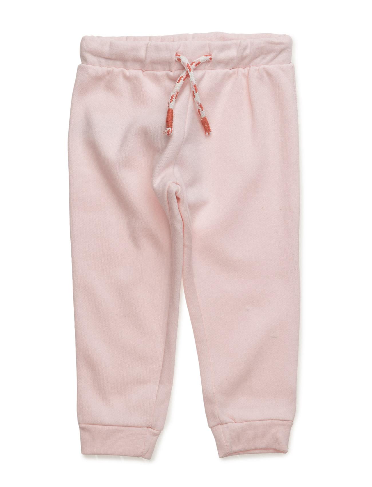 Cotton Jogging Trousers Mango Kids  til Børn i Natural White