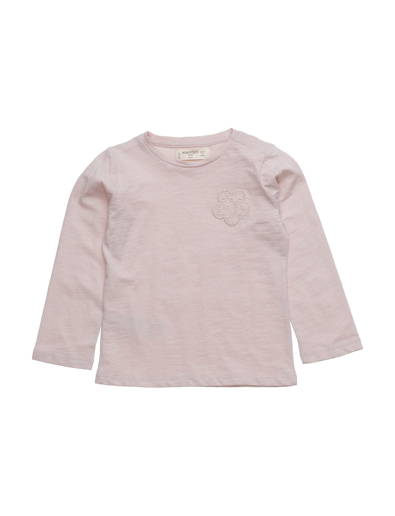 Embroidered Detail Cotton T-Shirt thumbnail