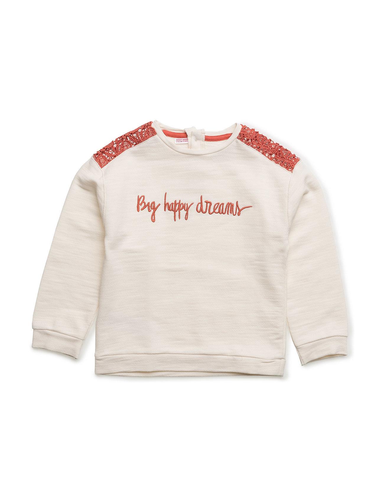 77ae62f964b2 Superläckra Crochet Detail Sweatshirt Mango Kids till Barn för ...