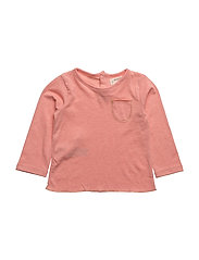 Pocket cotton t-shirt - PINK