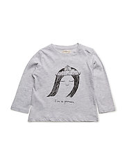 Image cotton t-shirt - MEDIUM GREY