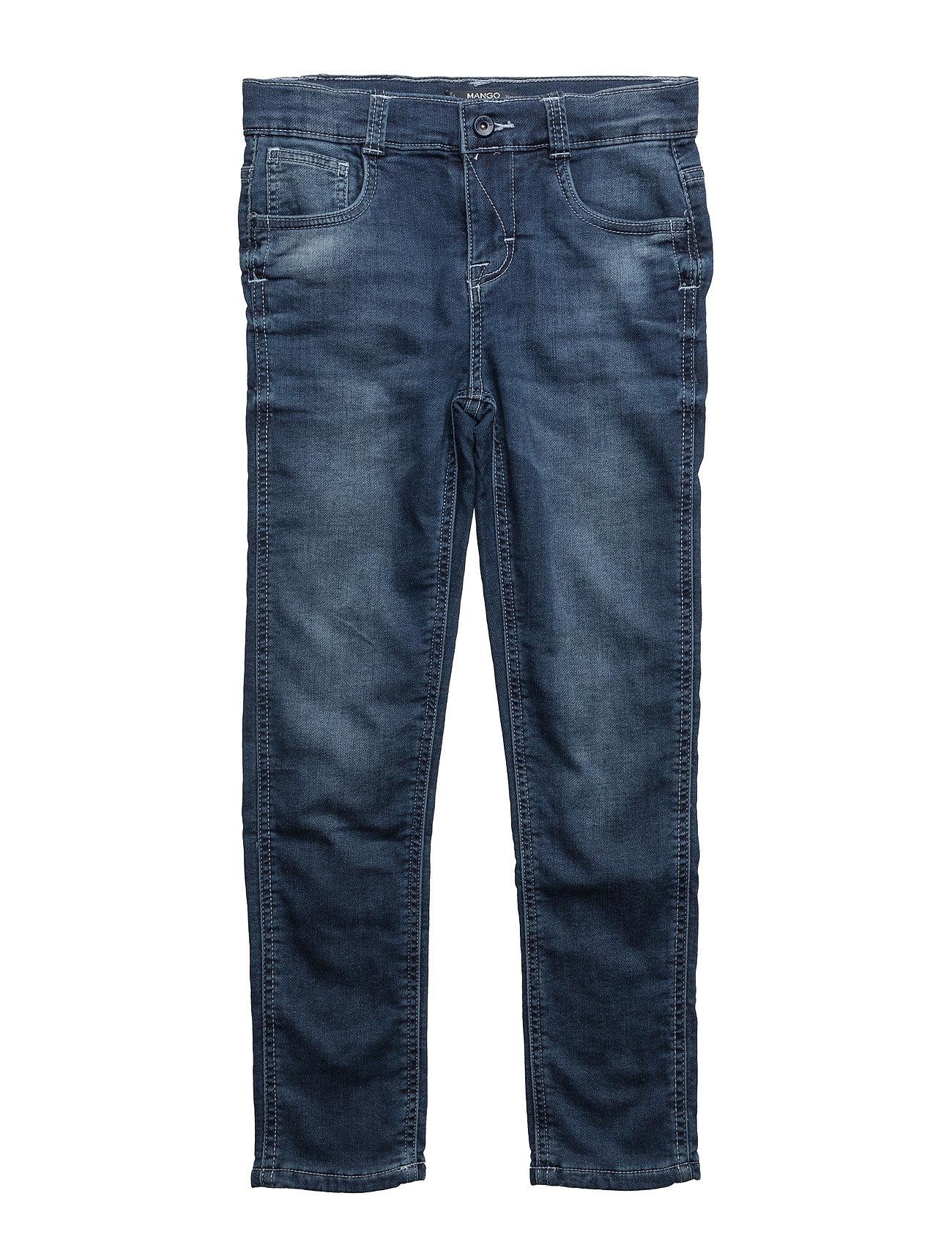 Comfy-Fit Jeans Mango Kids  til Børn i Medium Blå