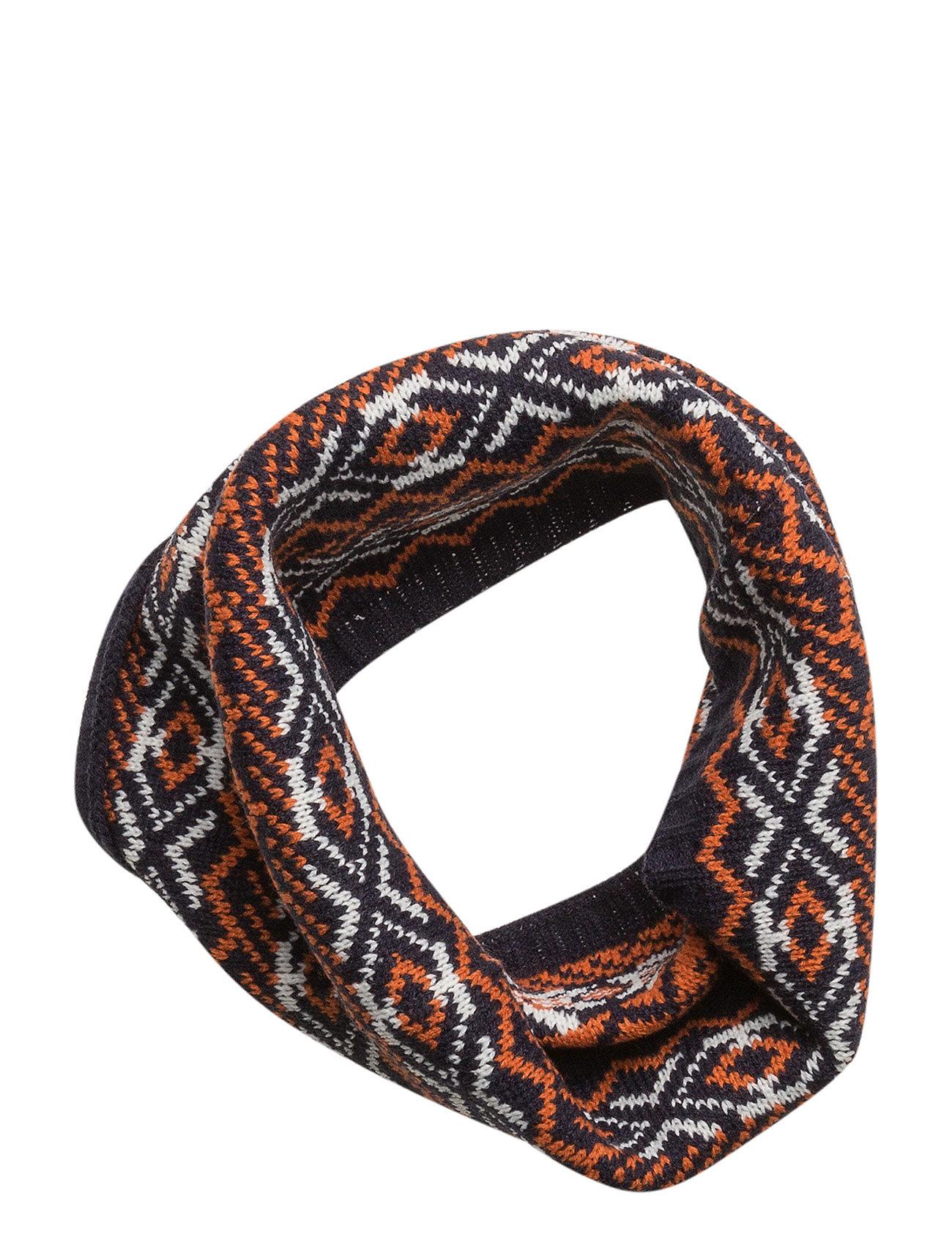 Tricolor knit scarf fra mango kids fra boozt.com dk