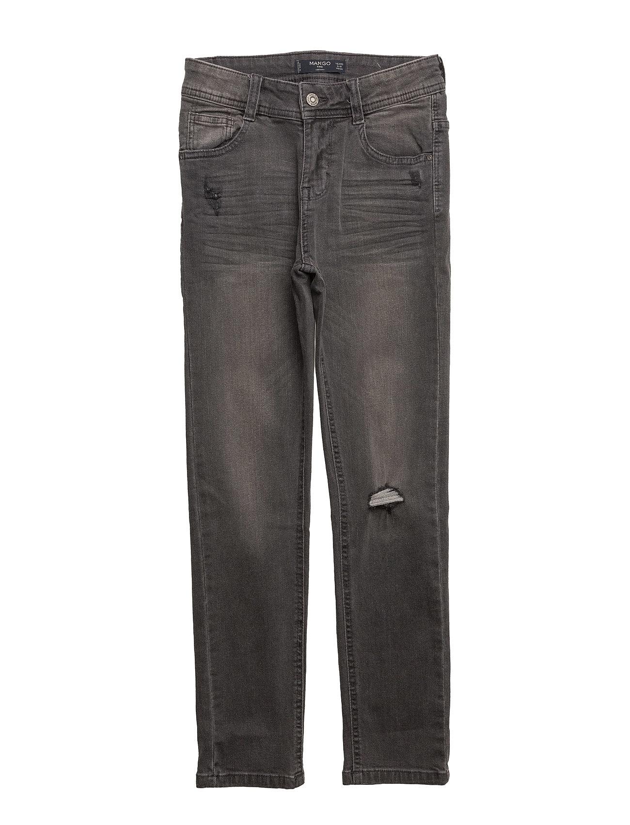 Slim-Fit  Jeans Mango Kids  til Børn i Open Grey