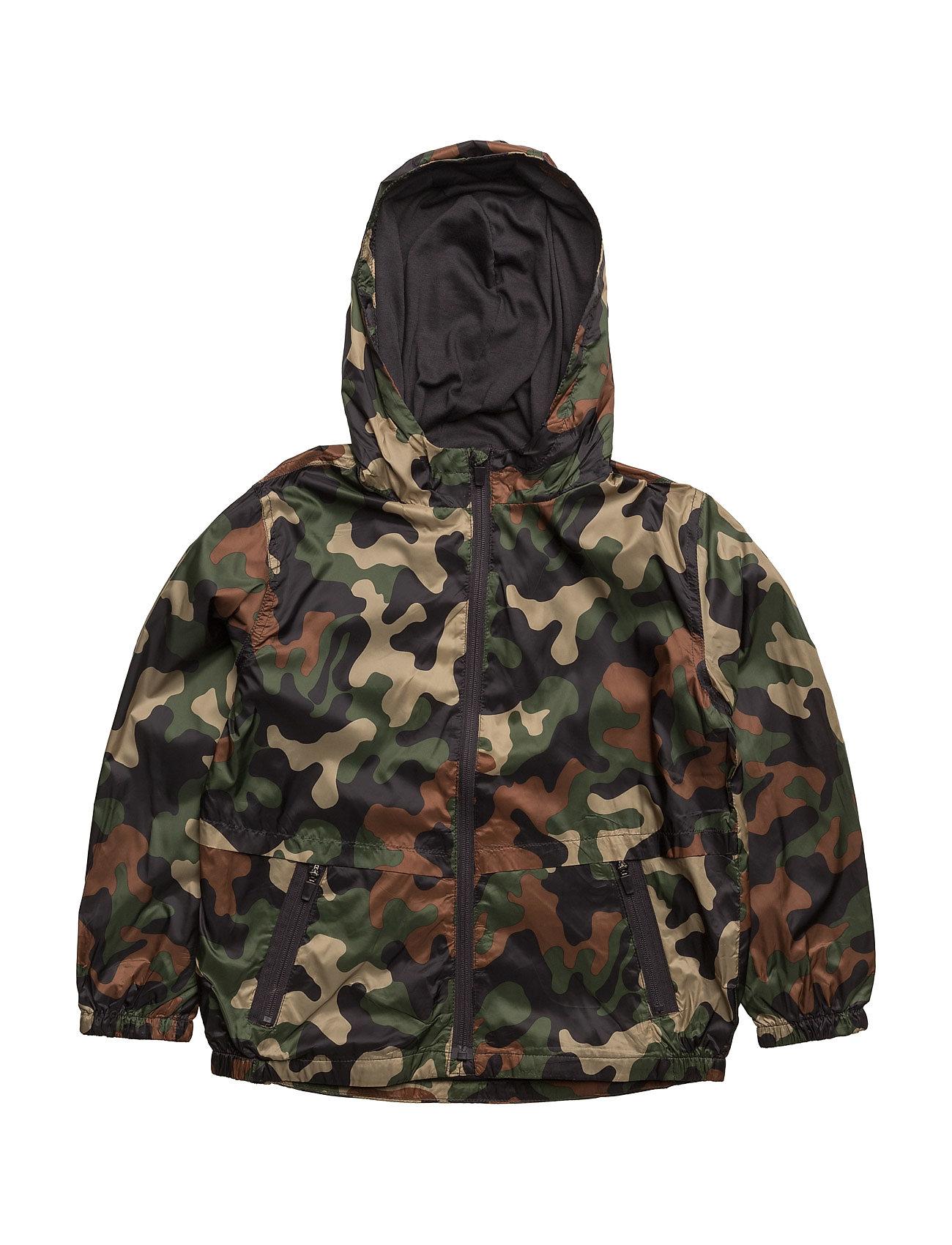 Raincoat Hooded Jacket Mango Kids Overtøj til Drenge i