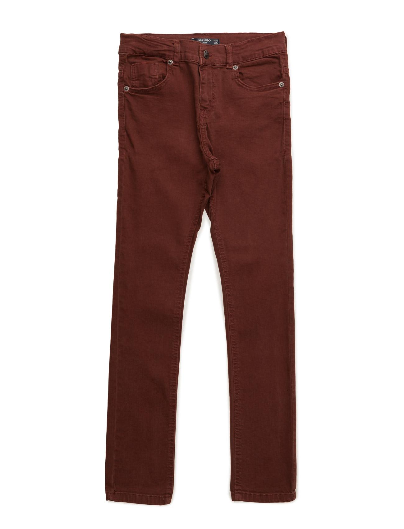 Skinny Jeans Mango Kids  til Børn i Medium Orange