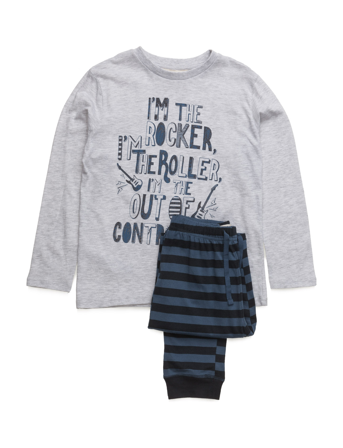 Cotton Long Pyjamas Mango Kids Pyjamas til Børn i