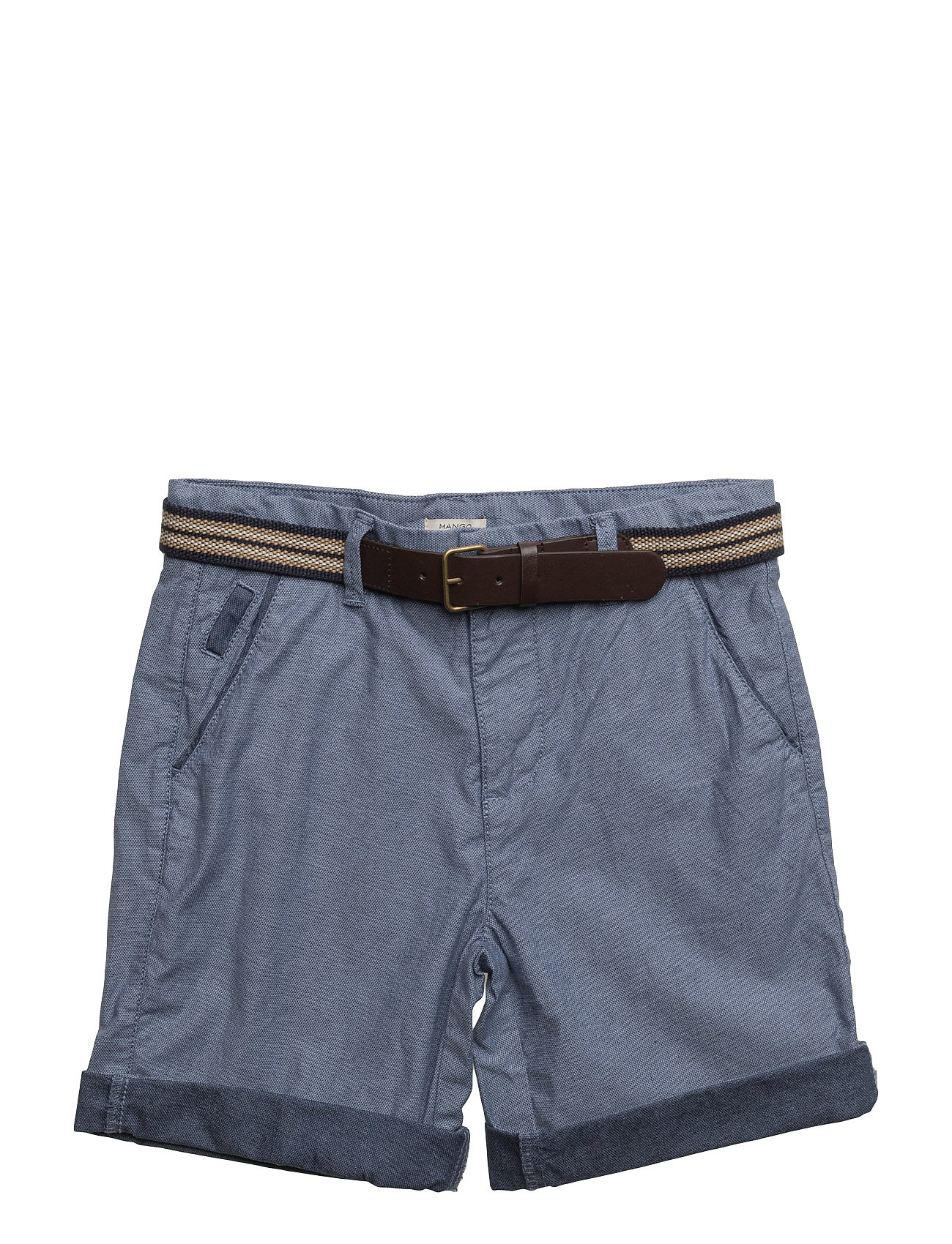 Belt Bermuda Shorts Mango Kids Shorts til Drenge i