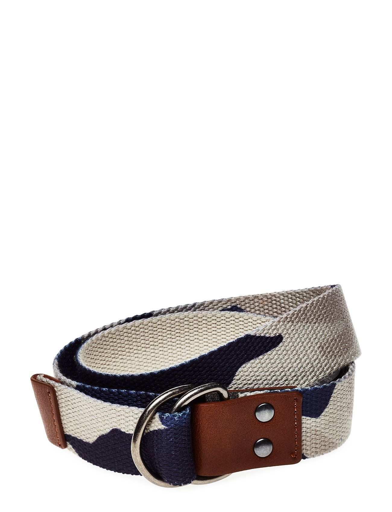 Printed Canvas Belt Mango Kids Diverse til Børn i Navy blå