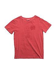Robot print t-shirt - RED