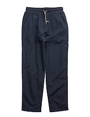 Drawstring baggy trousers - NAVY