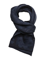 Military scarf print - MEDIUM BLUE